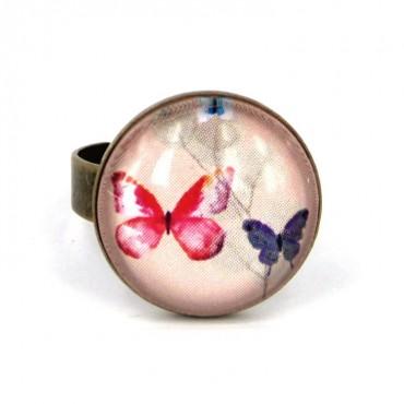 Anillo Pequeño - Butterflies