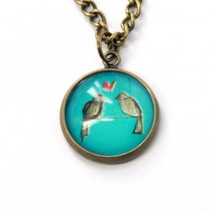 Collar Scope 14 - Love Birds