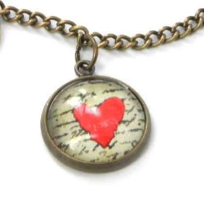 Pulsera de cadena - Love Message