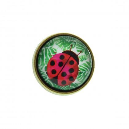 Anillo Grande - Ladybug