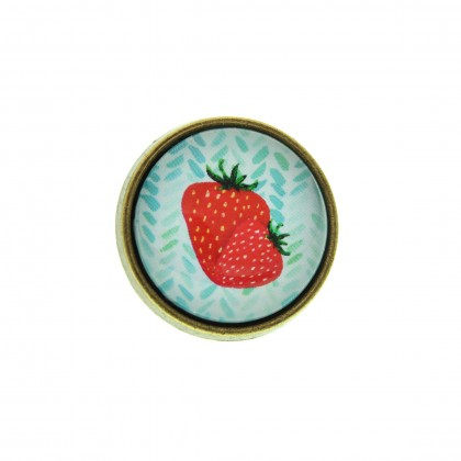 Anillo Grande - Strawberry