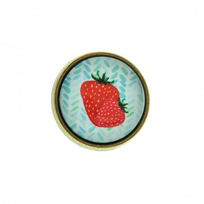 Anillo Grande - Strawberry