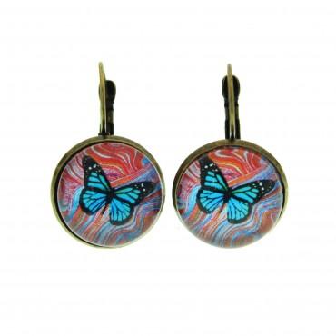 Pendientes de gancho G - Butterfly