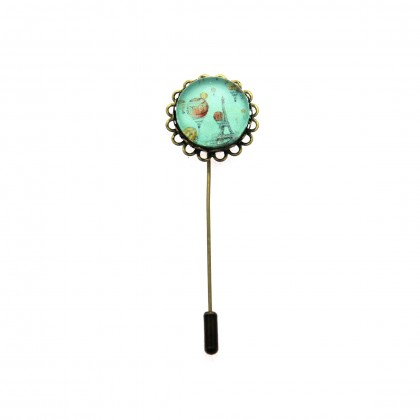 Broche de alfiler - Paris Balloon