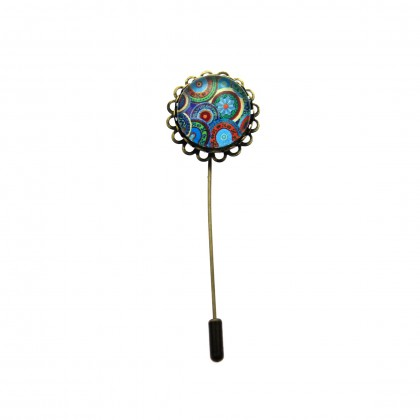 Broche de alfiler - Ethnic Circles