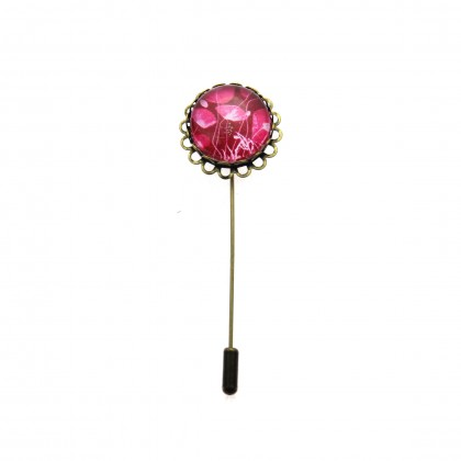 Broche de alfiler - Purple
