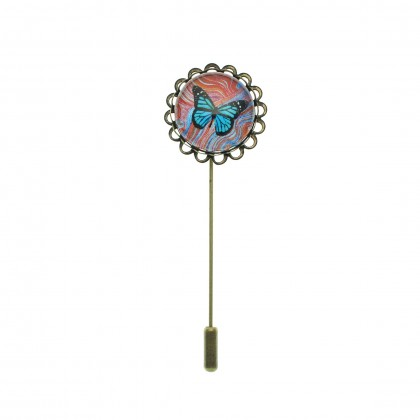 Broche de alfiler - Butterfly