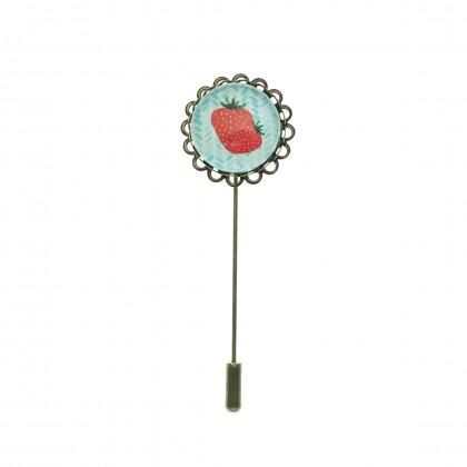 Broche de alfiler - Strawberry