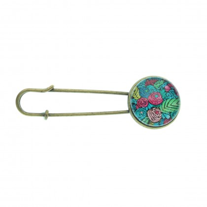 Broche imperdible - Spring Pattern