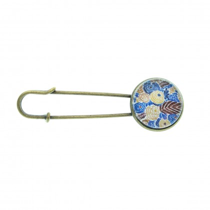 Broche imperdible - Mediterranean Pattern
