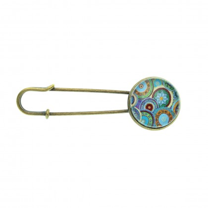 Broche imperdible - Ethnic Circles