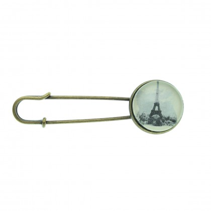 Broche imperdible - Paris