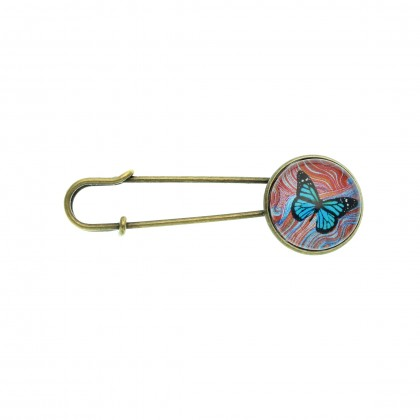 Broche imperdible - Butterfly