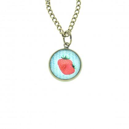 Collar Scope 14 - Strawberry
