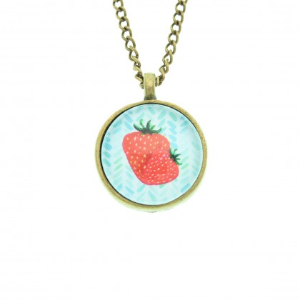 Collar Scope 20 - Strawberry