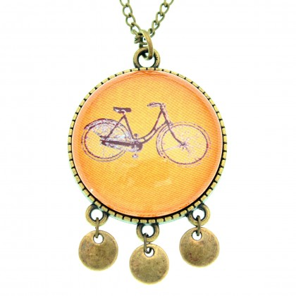 Collar Scope 30 - Bici Naranja