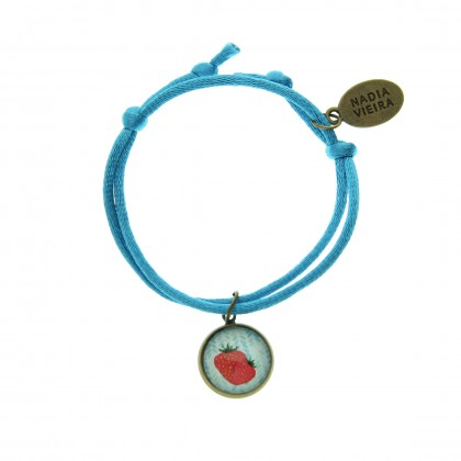 Pulsera de cordón - Strawberry