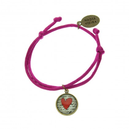 Pulsera de cordón - Love Message