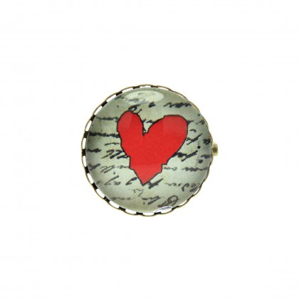 Broche - Love Message