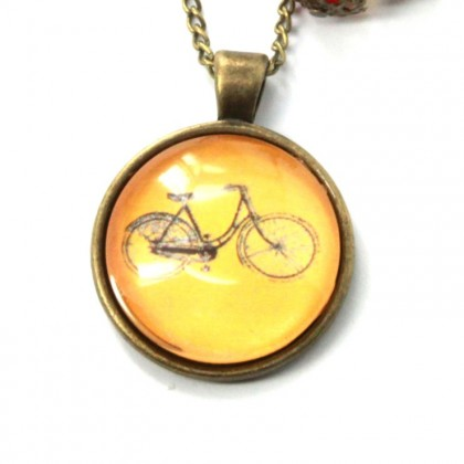 Collar Scope 25 - Bici Naranja