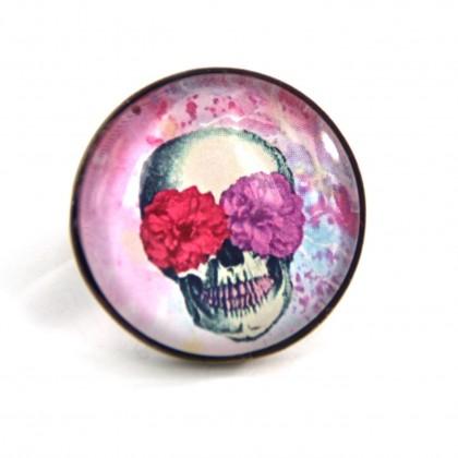 Anillo Grande - Skull