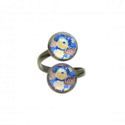 Anillo Doble - Mediterranean Pattern