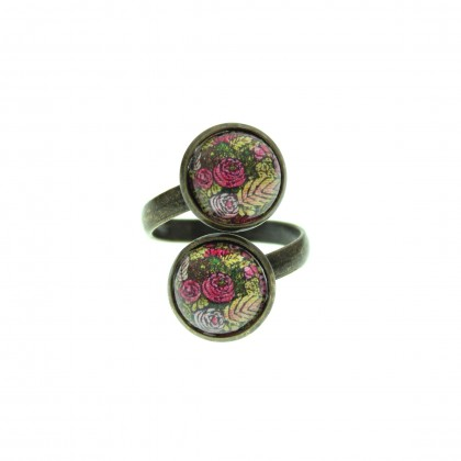 Anillo Doble - Autumn Pattern