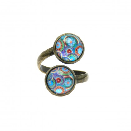 Anillo Doble - Ethnic Circles