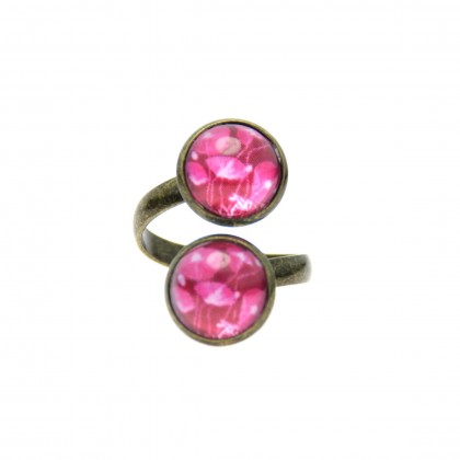 Anillo Doble - Purple