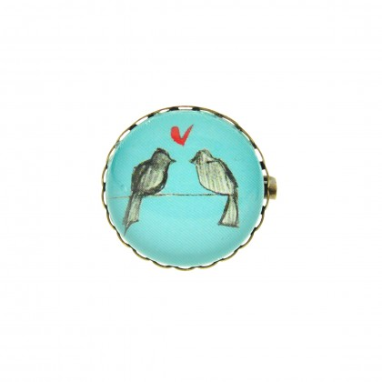 Broche - Love Birds