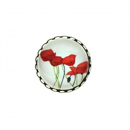 Broche - Poppy