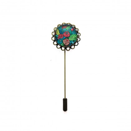 Broche de alfiler - Spring Pattern