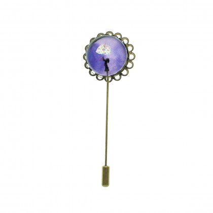 Broche de alfiler - Umbrella