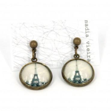 Pendientes de bolita - Paris