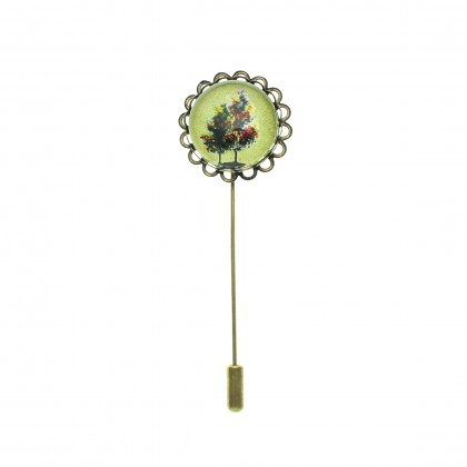 Broche de alfiler - Tree