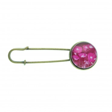 Broche imperdible - Purple