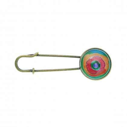 Broche imperdible - Rainbow
