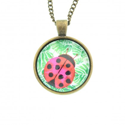 Collar Scope 25 - Ladybug