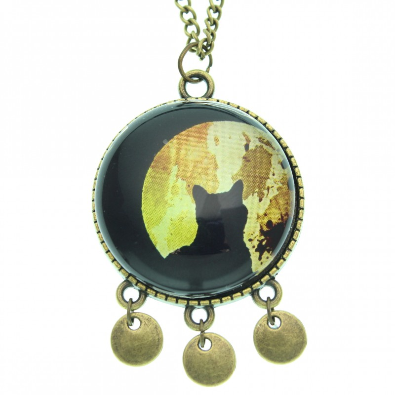 Collar Scope 30 - Moon Cat