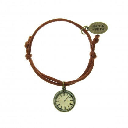 Pulsera de cordón - Time Flies