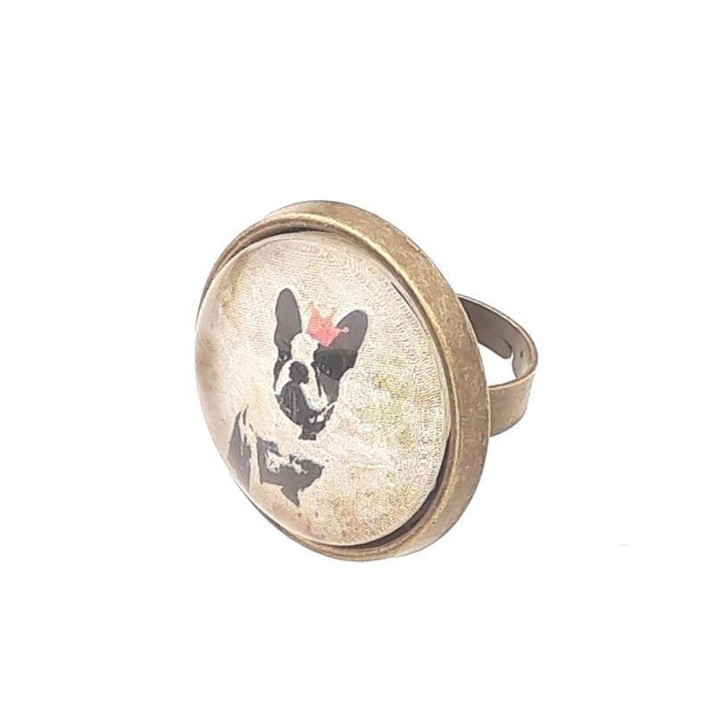 Anillo Grande - BULLDOG FRANCES