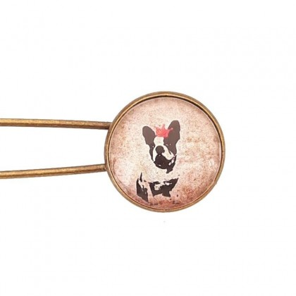 Broche imperdible - BULLDOG FRANCES
