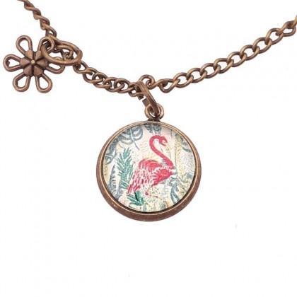 Pulsera de cadena - Flamingo