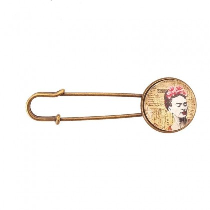 Broche imperdible - Frida