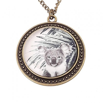 Collar Scope 30 Round - Koala