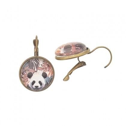 Pendientes de gancho G - Panda