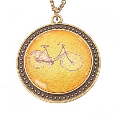 Collar Scope 30 Round - Bici Naranja
