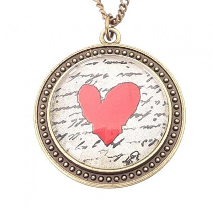 Collar Scope 30 Round - Love Message